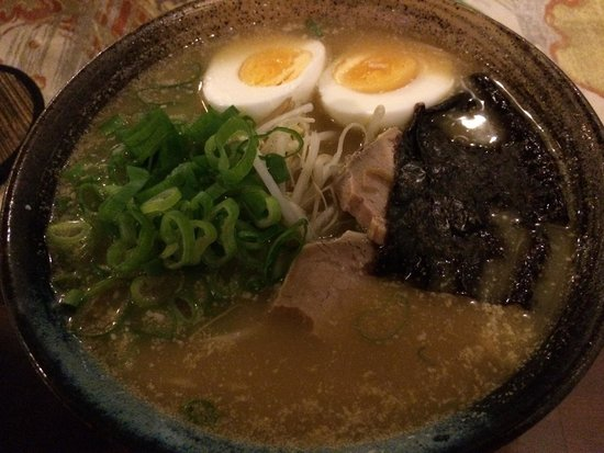 Samurai Kitchen: Tonkotsu ramen - one of these best I've ever had! Even compared to ramen I've had in Japan.