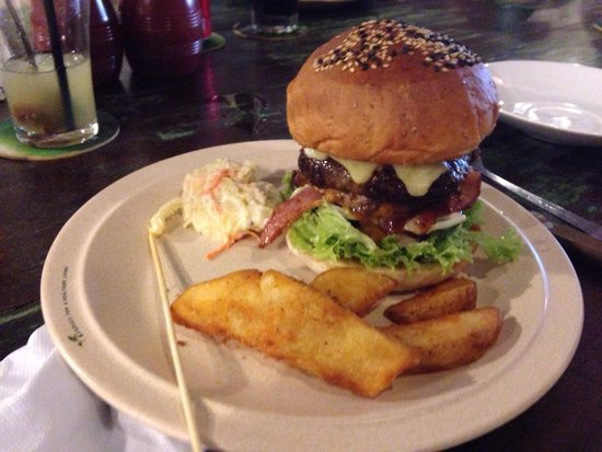 The Baboon House: Aloha burger