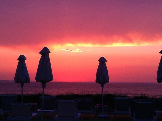 Restia Suites Exclusive Resort: Always magnificent sunsets