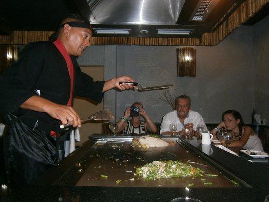 Melia Peninsula Varadero: Restaurante  Japonés