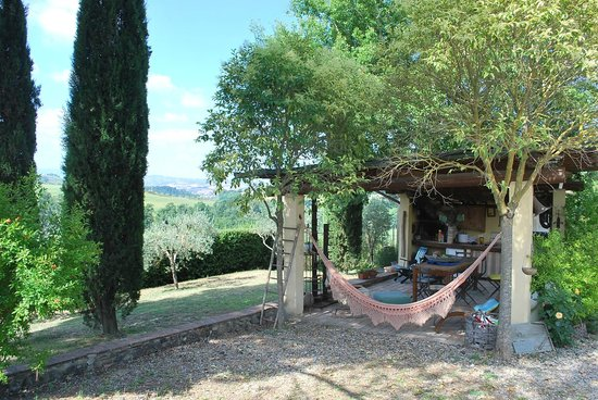 Il Grande Prato : One of the many secluded areas for relaxing and socializing