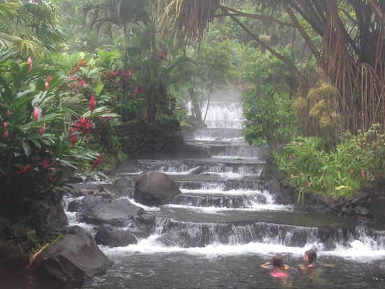 Tabacon Hot Springs: Relaxing