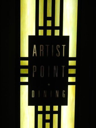 Artist Point: Restaurant Sign