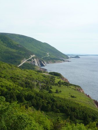 Cape Breton Highlands National Park: View of the Cabot Trail