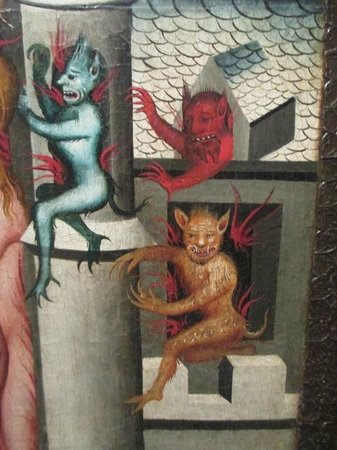 Wallraf-Richartz-Museum: Medieval - demons!