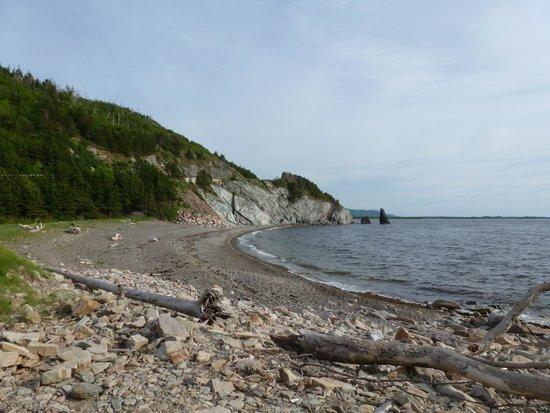 Cape Breton Highlands National Park: Rocky Beach in Cape Breton Highlands