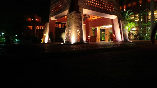 The Ritz-Carlton, Abama: Front of Hotel at night