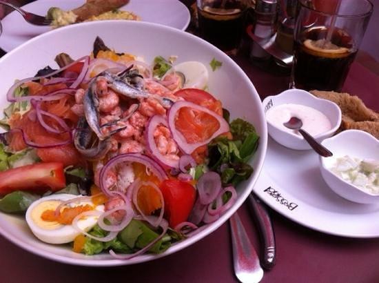 Le Grand Cafe: salade nordique