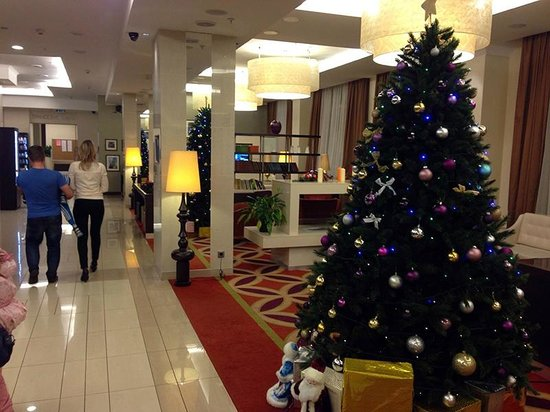 Courtyard St. Petersburg Center West/Pushkin Hotel: Холл