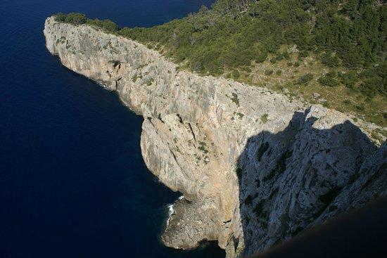 Cap de Formentor: Cliffs