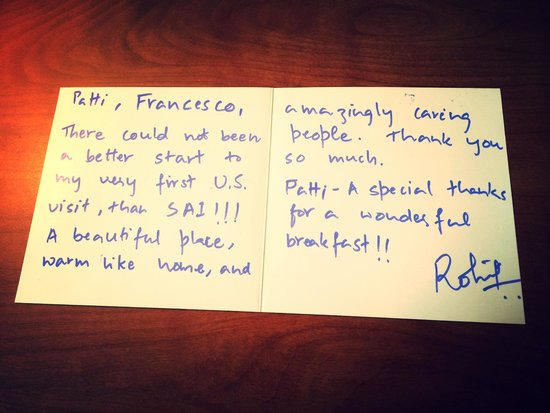 San Anselmo Inn: Our Guests are very happy! THank you!