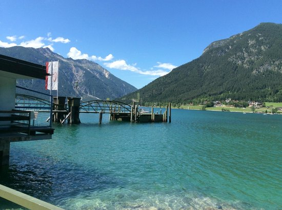 Achensee: The starting point of boat ride