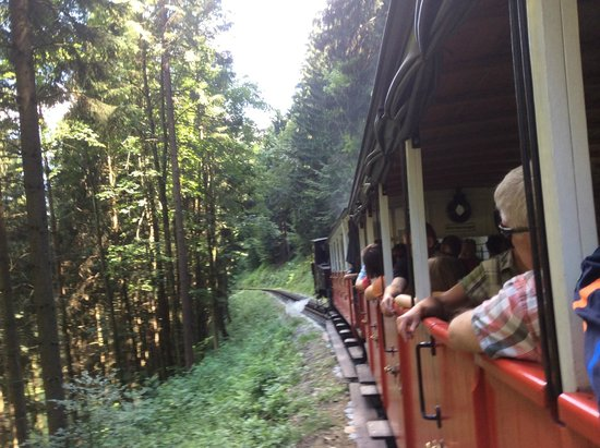 Achensee: The clog wheel train ride