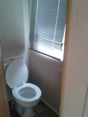 Primrose Valley Holiday Park - Haven: Toilet at the front