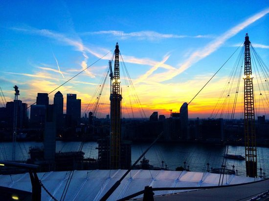 Sunset Climb View From The Top Picture Of Up At The O2