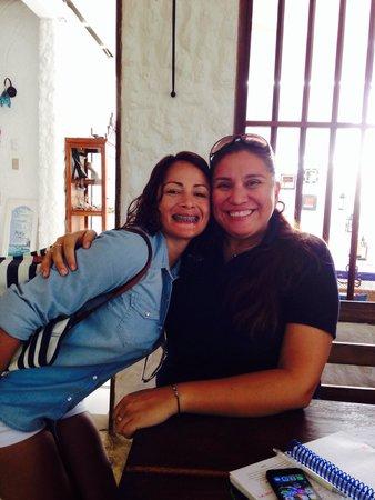 Posada Mediterraneo: Con Olga en Mediterráneo !!