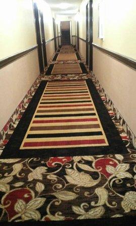 Quality Inn Hall of Fame: Hallway