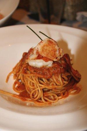 Forn de Sant Joan : Spaghetti con bogavant