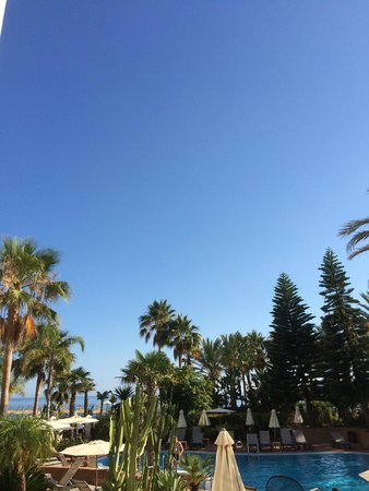 Marriott's Playa Andaluza: View from our balcony