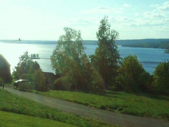 Best Western Hotell Lerdalshoejden: Uitzicht op het meer