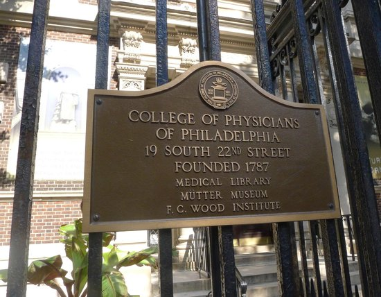 Mutter Museum: Philadelphia College of Physicians