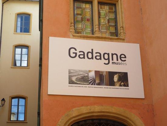 Musee d'Histoire de Lyon: Entrée musées Gadagne