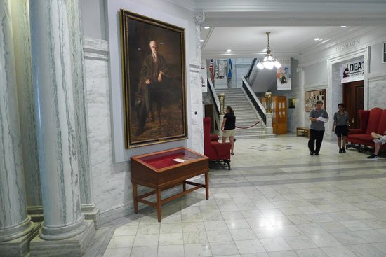 Mutter Museum: The museum's entrance