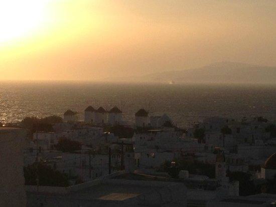 Little Rochari: view from hotel