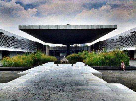 National Museum of Anthropology (Museo Nacional de Antropologia): Museum of Anthropology courtyard