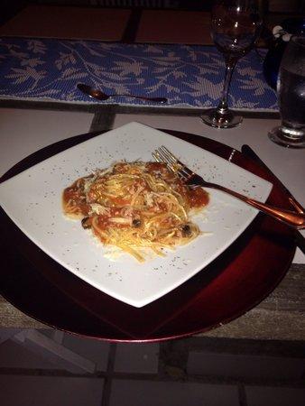 Posada Mediterraneo: Cena...!!! Sólo el comienzo