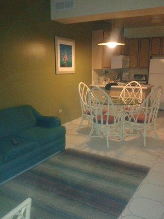 Tropicana Aruba Resort & Casino : cocina y comedor