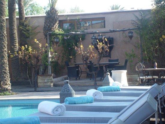 Villa 55: La piscine, superbe