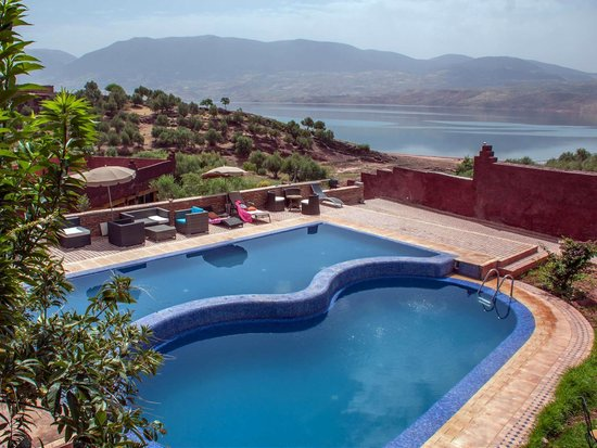 Bine el Ouidane, Marrocos: Pool