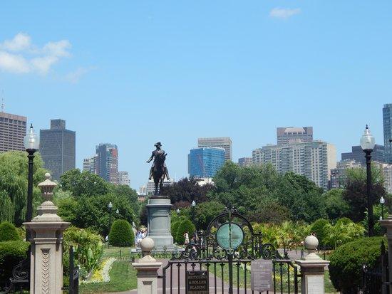 Boston Public Garden: Boston Garden