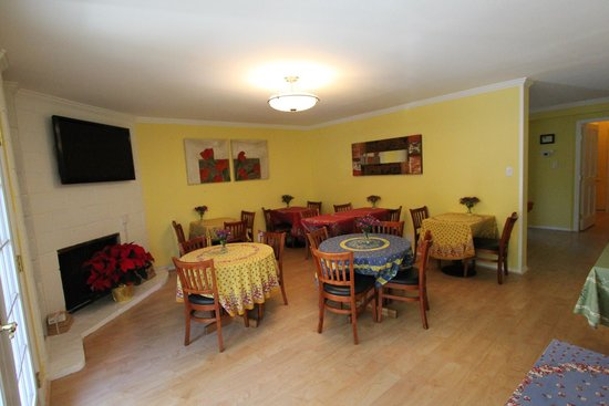 San Anselmo Inn: Breakfast area