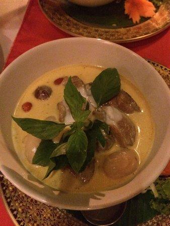 Spirit House Restaurant: Curry de canard, excellent