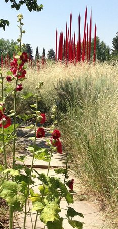 Denver Botanic Gardens: A great example of incorporation into the natural landscape.