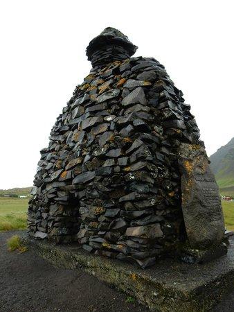 Região Oeste, Islândia: statue