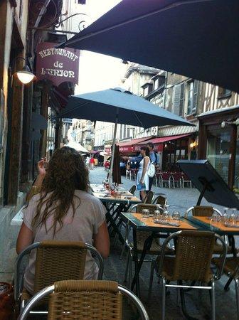 Le Cafe de l'Union : La terrasse