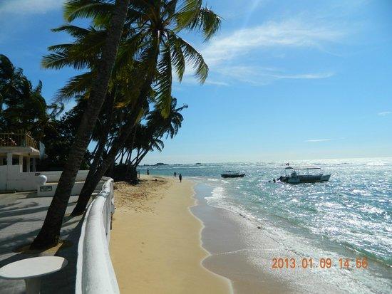 Hikkaduwa Beach Hotel: Utsikt från hotellet