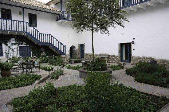 Belmond Palacio Nazarenas: One of the gardens