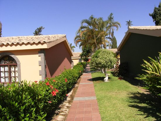Hotel Dunas Suites and Villas Resort: Gartenanlage um die Bungalows