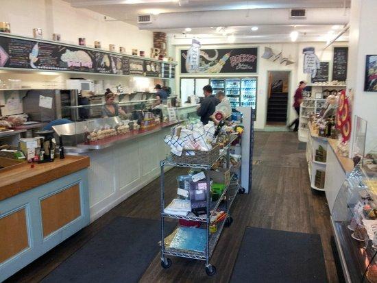 Rocket Bakery and Fresh Food: Rocket Bakery, inside