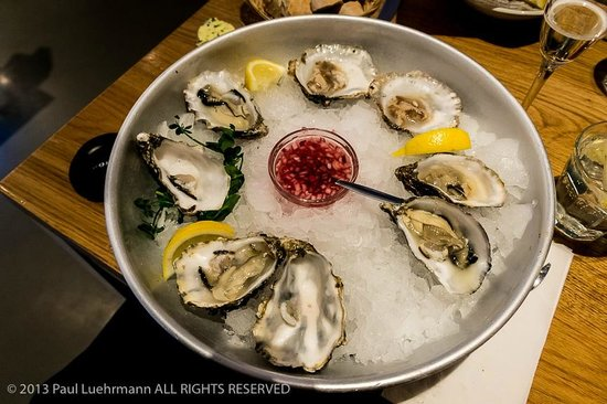 Oysters at the Seafood Bar, Amsterdam