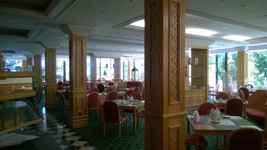 Holiday Inn Frankfurt-Airport North: ресторан