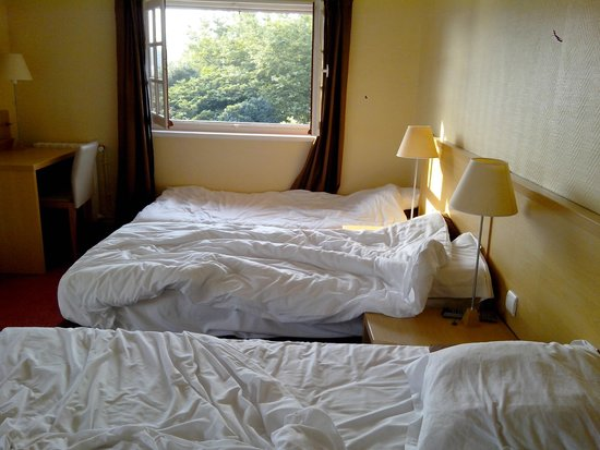 Hotel & Residence Orhoitza: Les lits
