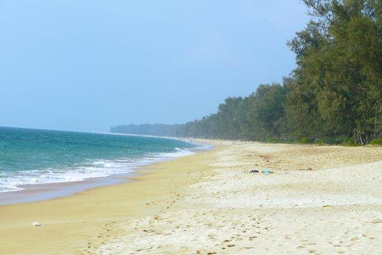 Holiday Inn Phuket Mai Khao Beach Resort: Чистый и малолюдный пляж