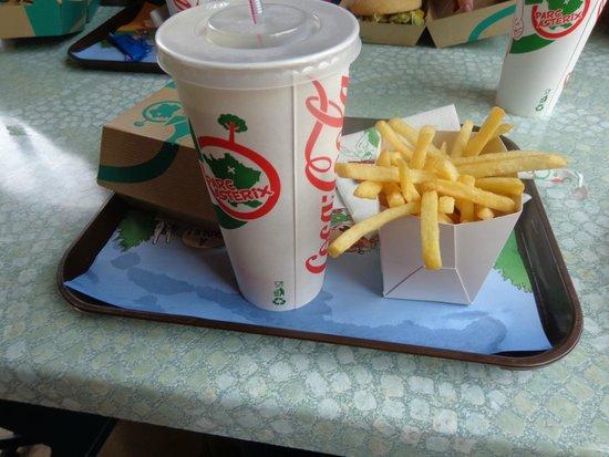 Parc Astérix : Repas ''aux fastes de rome''
