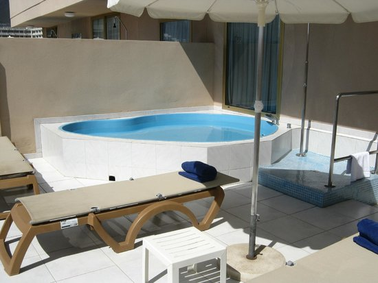 Cleopatra Palace Hotel: minipiscina privata in terrazza