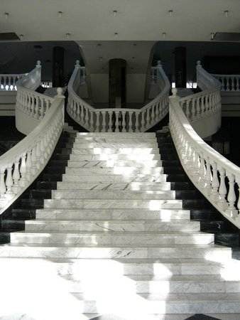 Cleopatra Palace Hotel: scala